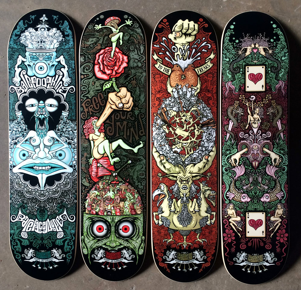 the-underground-merry-go-round_skateboard-deck-prototypes1_tim-naish