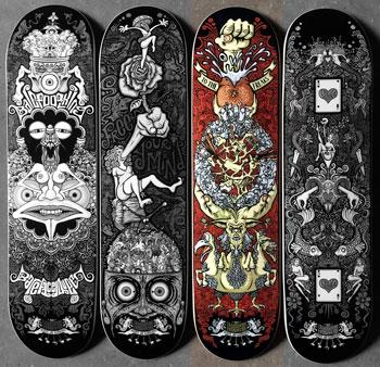 the-underground-merry-go-round_skateboard-series-deck3_tim-naish